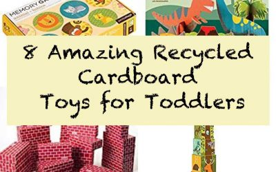 8 Amazing Toys Made Out Of Recycled Cardboard for Toddlers