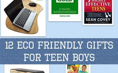 12 Eco Friendly Gifts for Teenage Boys