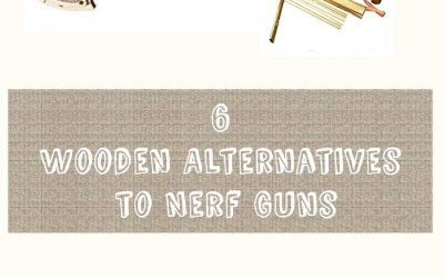 Six Wooden Alternatives To Nerf Guns