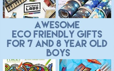 Eco Friendly Gifts for 7 and 8 Year Old Boys