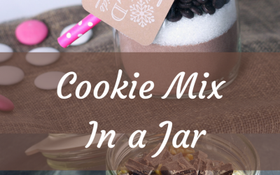 Cookie Mix In a Jar – Super Easy Homemade Gift