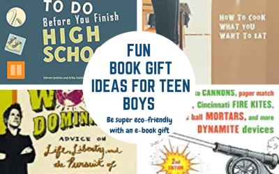 Awesome Book Gift Ideas for Teenage Boys